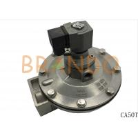 China Grey Pneumatic Cylinder Operated Valve CA50T For Industrial Dust Collector wholesale