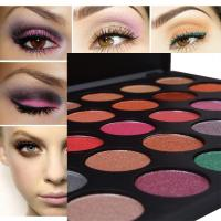 China Private Label Eyeshadow Palette With 35 Foiled Colors , Eye Makeup Eyeshadow wholesale