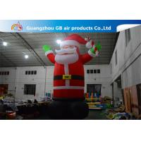 China Hot Selling Outdoor Giant Inflatable Santa Claus  Christmas Yard Decorations wholesale