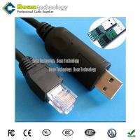 China Black color USB RS232 to RG45 console cable  RS232 Cable wholesale