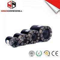 China Geological Diamond Core Drill Bit , Diamond Impregnated Bits With High Speed wholesale