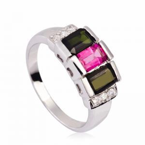 China Fashionable Crystal Silver Rings K-BC-A800 wholesale
