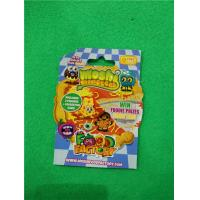Buy cheap 0.06mm PP Special Shape Plastic Bags for Kids Collecting Cards packaging , Custom Made Shape from wholesalers