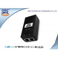 China GME Switching Power Adapter 48V 0.5A Black Regulated AC DC Adaptor wholesale