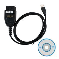 China VAGCOM 14.10.2 VAG Diagnostic Cable English German Version for VW, AUDI ,Seat and Skoda wholesale