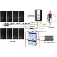 China Large Capacity Off Grid Solar And Wind Kits Smart Controller  Durable Construction wholesale
