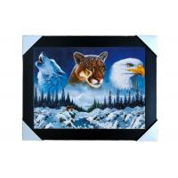 China PS Frame Stock  3D PET Lenticular Printing Services Wall Decorative Picture wholesale