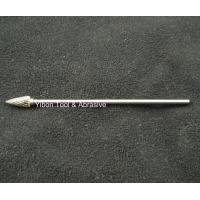 China Long shank 3mm G shape Tungsten file/ carbide burrs wholesale