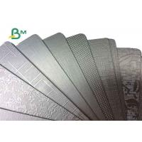 China Gold And Silver PET Metalized Cardboard Paper Roll For Packing Box High - end on sale