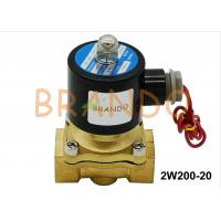 China 3/4'' Inlet Threaded Port 2W200-20 Pneumatic Water Solenoid Diaphragm Valve In Ultra-pure Water Equipment wholesale