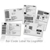 China Anti Counterfeit Logistic Labels , Adhesive Thermal Label Sticker wholesale