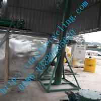 Quality JNC High-tech waste oil pyrolysis to diesel oil machine for sale