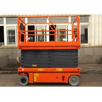 China Electric Self Propelled Aerial Work Platform Mobile Hydraulic Man Lift Equipment wholesale