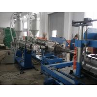 China 16 - 110mm PVC Corrugated Pipe Production Line Stable Running Plastic Extrusion Machinery wholesale