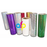 Quality Holographic Thermal Lamination Film Laser Holographic Film for Gift Wrapping for sale