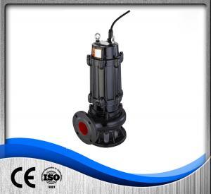 China Commercial Sewage Treatment Pump , Cast Iron Submersible Pump 1.5kw Liquid PH 6-10 wholesale