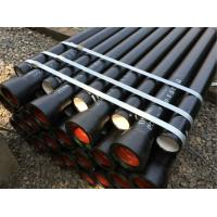 China 6M Cement Lined Ductile Iron Pipe Zinc Spraying With ISO2531 Standard on sale