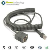 China 90A051891 for Datalogic Cable CAB-408 9.5ft COILED RS232 with PWR ON 9PIN DB9 FEMALE CABLE wholesale
