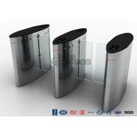 Quality Electric Sliding Controlled Access Turnstile Waist Height For Traffic System for sale