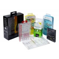 China Square Small Clear Plastic Gift Boxes With Lids PVC PP PET Material Customize Printing wholesale
