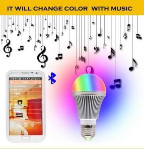 Quality RGB 5W A19 Bluetooth LED Bulb for sale