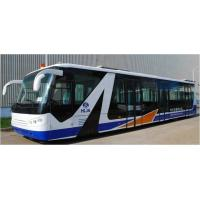 China Cummins Engine Airport Passenger Bus Shuttle Bus To The Airport With Aluminum Apron wholesale