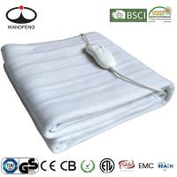 China Home Heater Electric Blanket Heated Mattress Pad with GS CE ETL wholesale