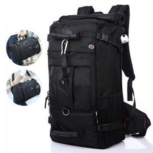China Zipper Closure 50L Mountain Tactical Hiking Backpack wholesale