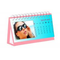 Quality Matt Art Paper Personalized Calendar Printing Services Waterproof Poly Bag Packing for sale