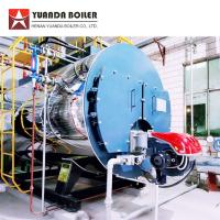 China PLC Automatic Control 4000kghr Diesel Oil Fired Steam Boiler for Corrugator Machine wholesale