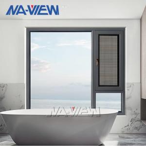 China 1.2mm Aluminium Casement Windows Swing Single Pane Casement Windows wholesale