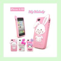 Quality fashion rabbit silicone iphone case  ,silicone covers for iphone4/4s/5/5s for sale