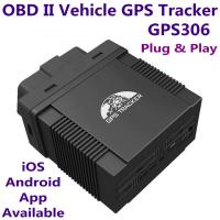China GPS306 OBD II Car Vehicle Security GSM GPRS GPS Tracker + Car On-Board Diagnostics Trouble-Shoot Tool W/ iOS/Android App wholesale