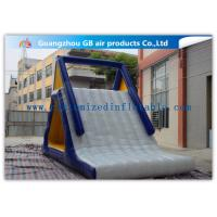 China Customized Adults / Kids Inflatable Water Slide Floating Sports Game wholesale