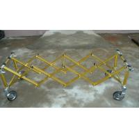 China 6Inch Wheel Anodiezed Aluminium Church Truck Mortuary Equipment with 4 or 5 X Frame wholesale
