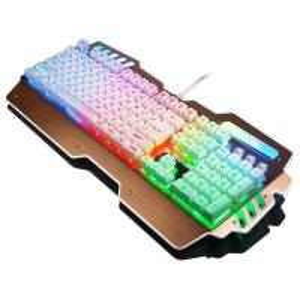 China Waterproof Anti Ghosting Bezel Keyboard Rainbow Backlit Keyboard Win 2000 wholesale