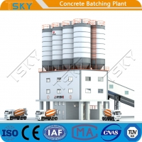 China Fully Automatic Compact Tower 240m3 Concrete Mixing Plant wholesale