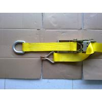 China Self Tightening Ratchet Tie Down Straps With D Ring GS TUV Approved wholesale