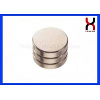 China N52 Grade NdFeB Permanent Round Magnets Customized Big Size Disc Magnets on sale