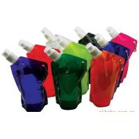 China Foldable Water Bag Stand Up Pouch With Spout For Juice , Oil , Gel , Liquid wholesale