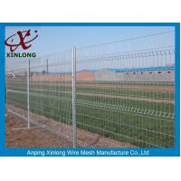 China 3D Curved Green Pvc Coated Wire Mesh Fencing For Highway Sport Field Garden wholesale
