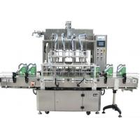 Quality Liquid Beverage Filling Equipment Labeling Machine For Fruit Juice Filling for sale
