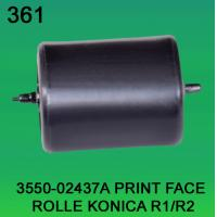 China 3550-02437A / 3550 02437A / 355002437A PRINT FACE ROLLER FOR KONICA R1,R2 minilab wholesale