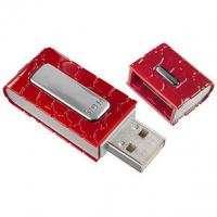 China Leather book shape usb flash drives on sale