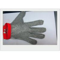 China Cut Resistant Stainless Steel Gloves Metal Welded For meat industry wholesale
