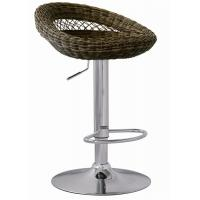 China Outdoor Furniture Rattan Bar Stools Adjustable Height SGS Standard wholesale