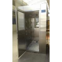 China 4 - 8 Person Intelligent Stainless Steel Air Shower , Class 100 Air Shower Room wholesale