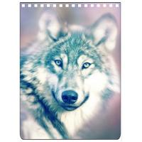 China Custom A4 A5 A6 Wolf Images 3D Lenticular Cover With PET / PP Friendly Material wholesale