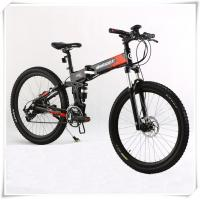 China 36V Folding Electric Bike 25 Km / H Max Speed Folding Electric Mountain Bike wholesale
