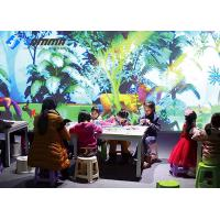 China AR Interactive Projector Games For Painting Magic Forest 1-8 Players Scanner wholesale